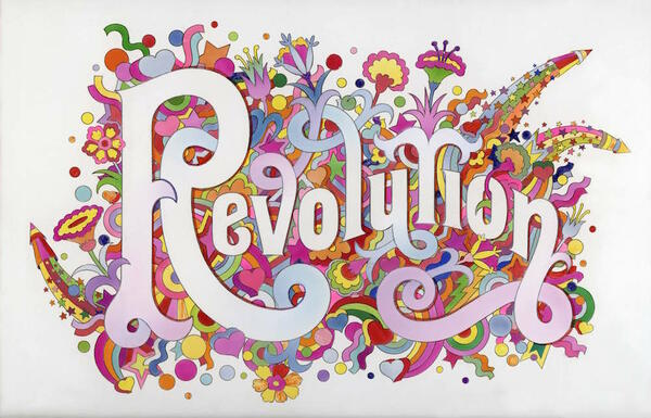 7._The_Beatles_Illustrated_Lyrics_Revolution_1968_by_Alan_Aldridge__Icon...