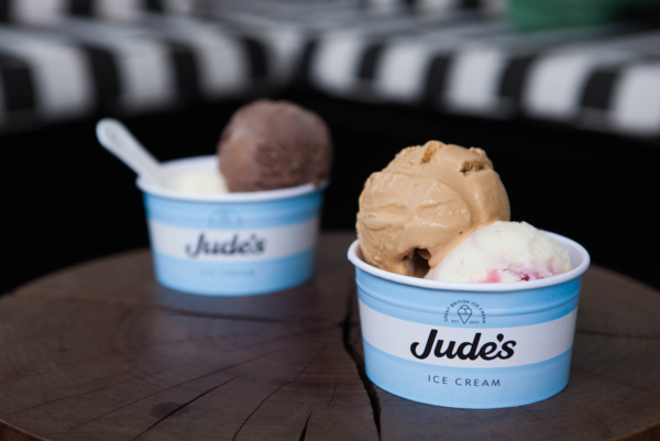 Jude's ice cream pop-up stall at The Kensington Hotel