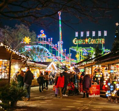 Hyde Park's Winter Wonderland Christmas Market
