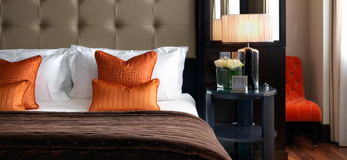 Bedrooms at The Westbury Hotel Dublin, Ireland