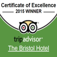TripAdvisor Certificate of Excellence 2015 - Bristol