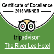 TripAdvisor Certificate of Excellence 2015 - River Lee
