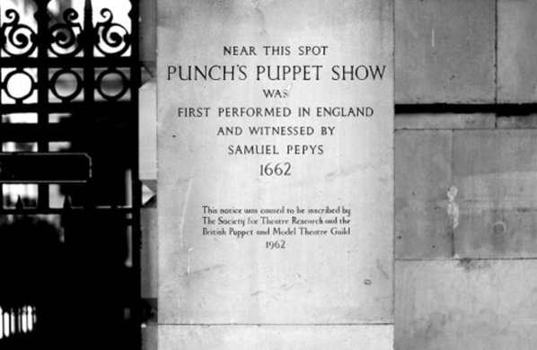 Punch & Judy's First Performance