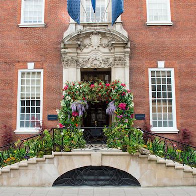 celebrating the chelsea flower show with chelsea in bloom at the bloomsbury hotel and the dalloway terrace the doyle collection