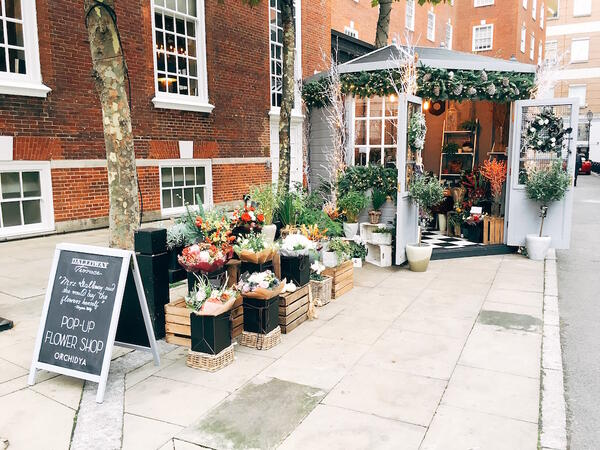 Dalloway Terrace Pop Up Flower Shop 1
