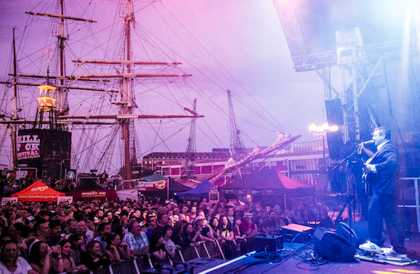 Musical event at Bristol Harbourside