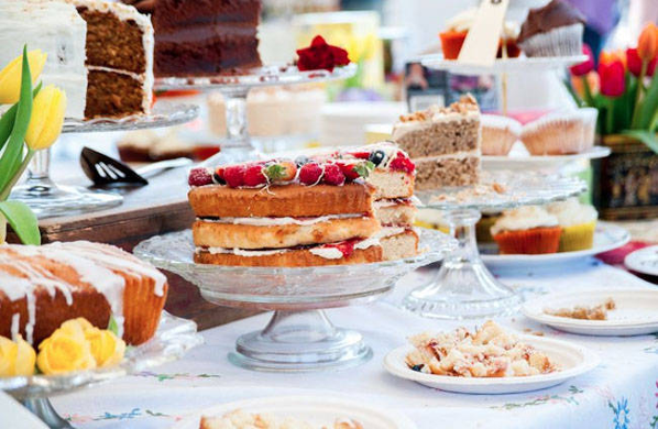 An array of cakes from Bite of Bristol