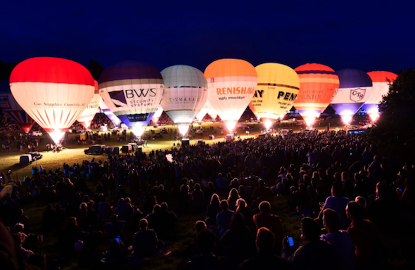 : The Bristol International Balloon Fiesta is back this year at Ashton Court Mansion. Watch the skies and hundreds of colourful balloons take off or be part of the action with a number of flight options.