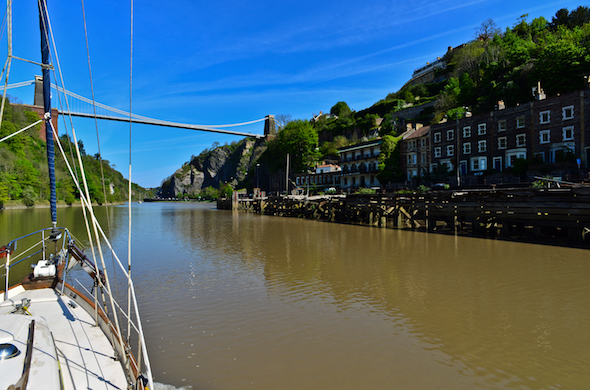 The River Avon, Bristol City