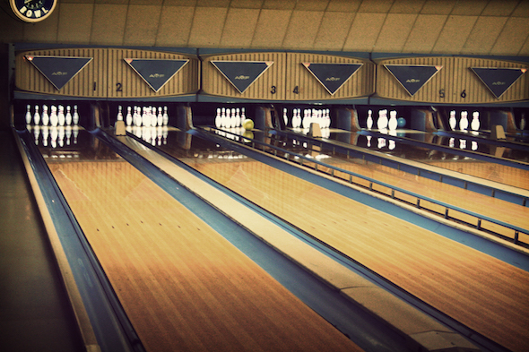 The Lanes in Bristol - bowling alley