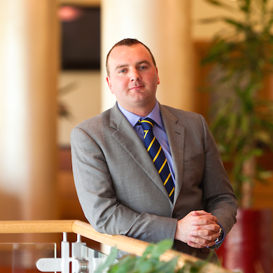 Mark Payne General Manager of The Bristol hotel in Bristol City