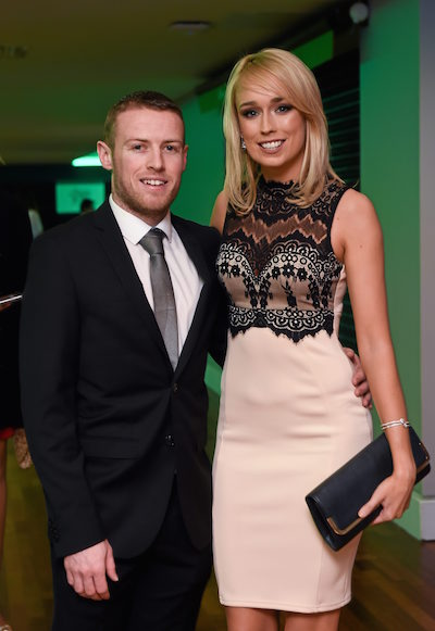 Stephanie Roche and boyfriend Dean Zambra