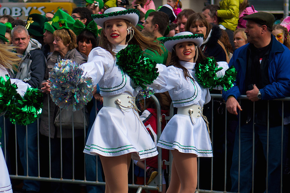 Image result for st patricks day majorette