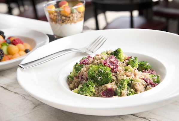 There are plenty of healthy options on the new menu at Cafe Dupont in Washington DC, for gluten free, dairy free clean eating.