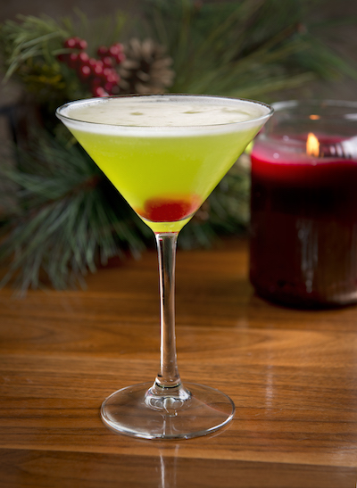 Enjoy the gingerbread martini in Bar Dupont, where there is a new cocktail menu with holiday specials for the festive season in Washington DC