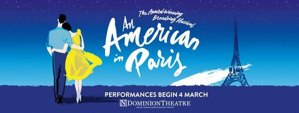 6 Must-See Shows in London, 2017; An American in Paris