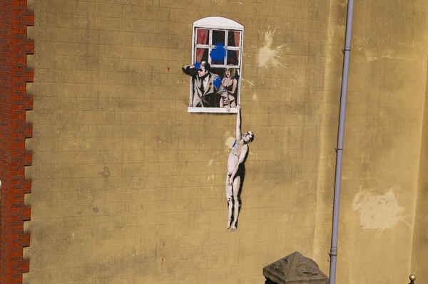 Banksy Grafitti Tour