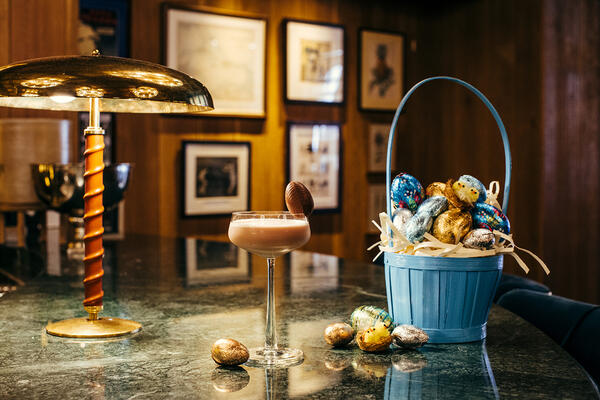Easter menus London hotels