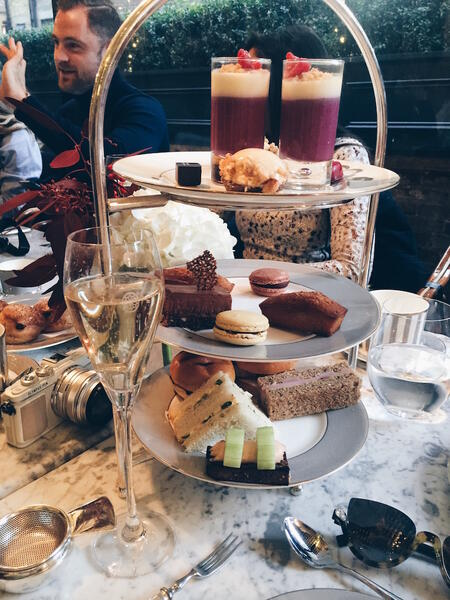 Lorna Luxe Afternoon Tea at Dalloway Terrace