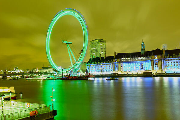 St. Patrick's Day - London Eye
