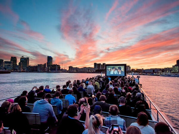Quirky Outdoor Cinemas in London