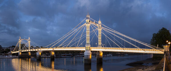Albert Bridge; romantic things to do in London