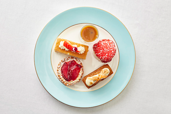 Selection of Afternoon Tea delights in The Kensington