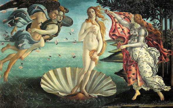 the birth of venus botticelli reimagined blog post the kensington doyle collection hotels art image