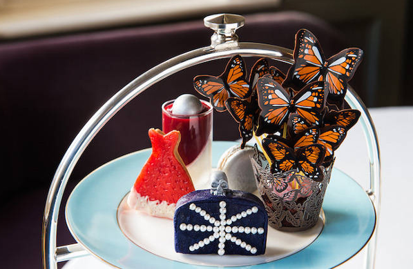 McQueen inspired Afternoon Tea selection