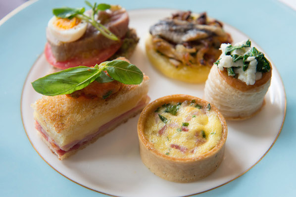 Oh So French Afternoon Tea savoury treats