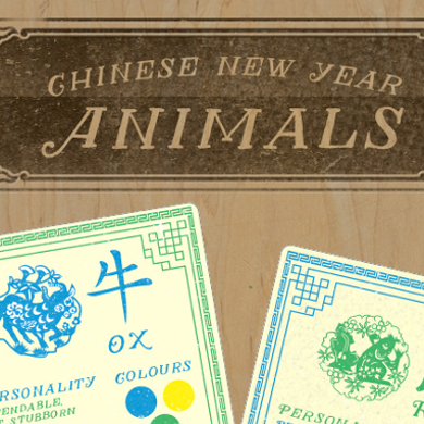 Chinese New Year Animals - banner