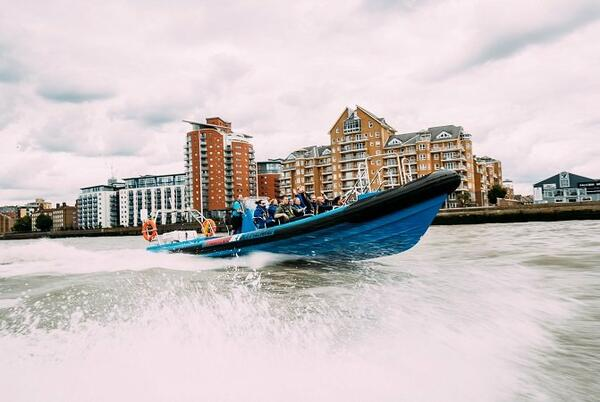 Thames Speed boat