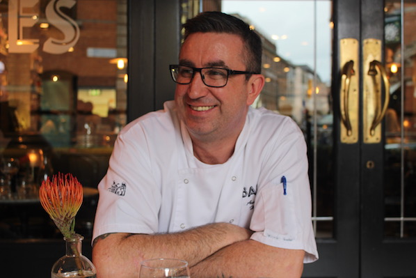Austin Byrne, head chef of Balfes in Dublin