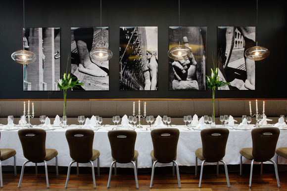 The Weir Rooms, a luxurious restaurant in Cork city with local seasonal food