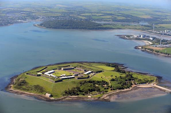 Spike Island in Cork