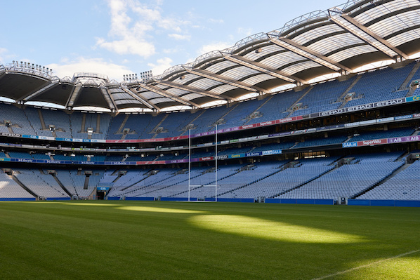 The Croke Park hotel is over the road from the iconic Dublin stadium