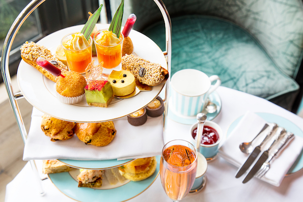 A spring themed Afternoon Tea at The Westbury