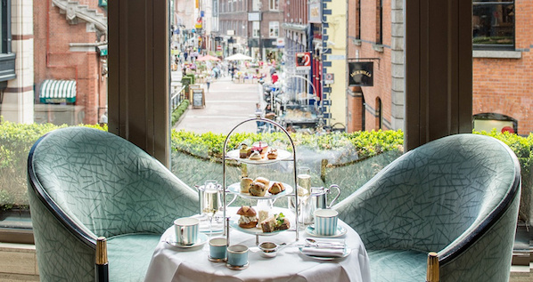 Afternoon Tea at The Westbury in the heart of Dublin