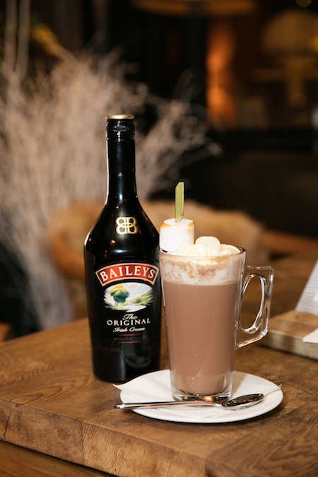 Baileys cocktail at The River Lee in Cork