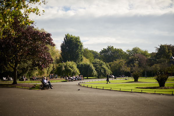 Parks in Dublin city centre close to The Westbury
