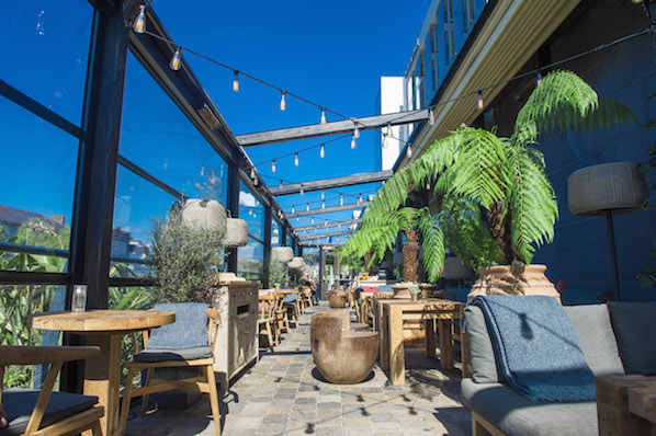Terrace on the Weir is the perfect restaurant for an al fresco meal in the city centre of Cork, at The River Lee hotel.