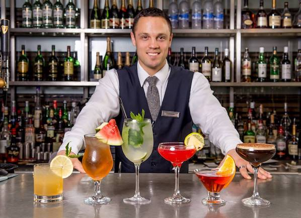 The new cocktail menu at The Croke Park is the perfect spot for group cocktails in Dublin city.