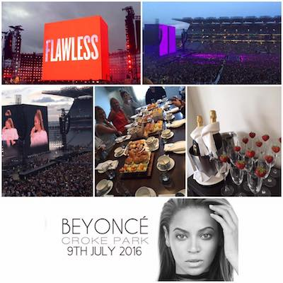 Beyonce played at Croke Park this year, right next to The Croke Park hotel in Dublin.