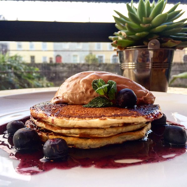 A recipe for American style pancakes from the Tennessee chef at The River Lee hotel in cork.