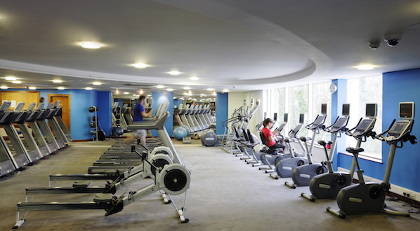 Keep fit on a hotel break at The River Lee, where you can join in any number of free classes from spinning to Zumba.
