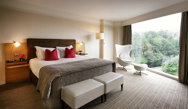 Spend New Year's Eve in The River Lee hotel in Cork city, with dinner, breakfast and use of spa and pool.