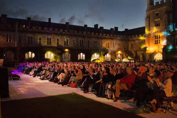 Spend a summer evening on the main quad in UCC, listening to fantastic music in the open air.