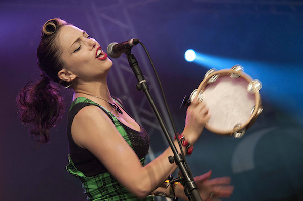 Imelda May is playing the marquee in Cork this year, near The River Lee hotel.