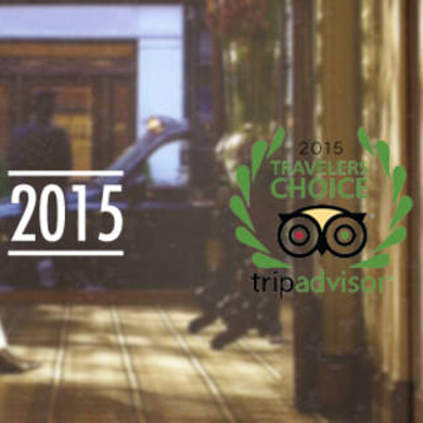 2015 Travellers Choice Award - banner