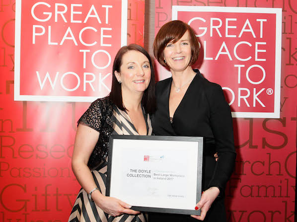 The Doyle Collection was voted one of the Great Places to Work in the world, the only hotel group in its category.